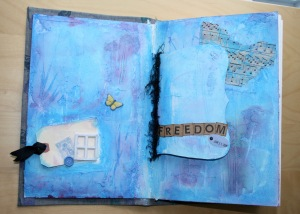 Photo of Art Journal Page